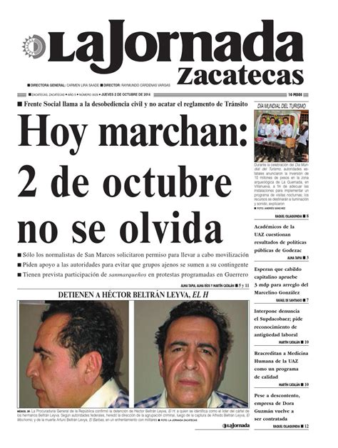 imagenes 2 de octubre no se olvida la jornada zacatecas jueves 2 de octubre del 2014 by la