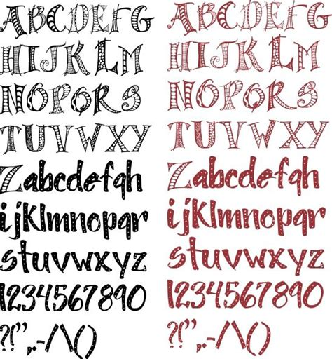 hello doodle print free font 17 best images about fonts and lettering styles on