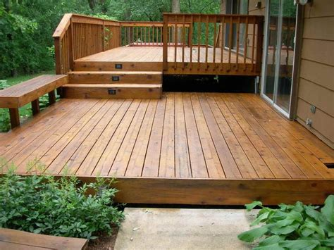 25 best ideas about backyard deck designs on