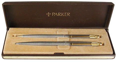 Hozan S 75 Set pen 75 sterling silver ballpoint pen pencil set in orig cisele pattern c 1960 s exc