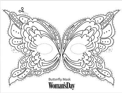 butterfly mask coloring pages 288 best masks images on pinterest school craft and