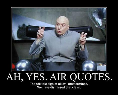 Meme Sayings - air quotes meme quotesgram