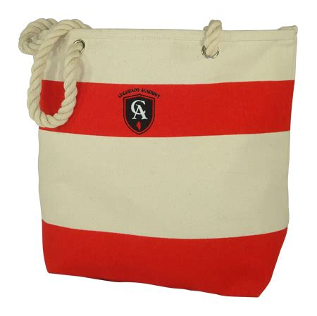 Embroidered Canvas Tote Bag custom promotional tote bags