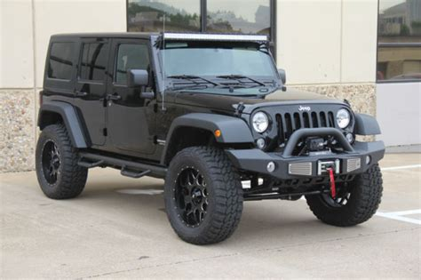 black jeep 4 door jeep wrangler 4 door black lifted pixshark com
