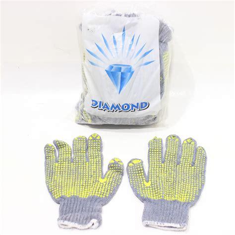 Sarung Tangan Industri sarung tangan tutul abu 12pcs jawatimuronline