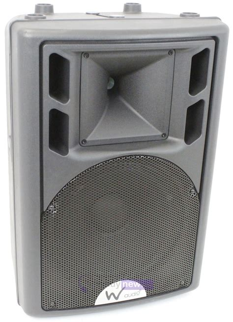 W Audio Active Speakers by W Audio Psr 12a Neo Powered Speaker Whybuynew