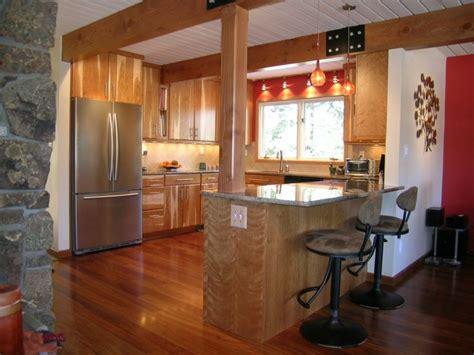 Kitchen Peninsula Support Post Pin By Barrett On Kitchens