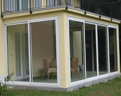 vetrate per terrazzi chiusura terrazzo con vetrate