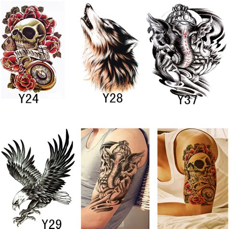 temporary henna tattoo transfer 4pcs waterproof tattoos for patterns