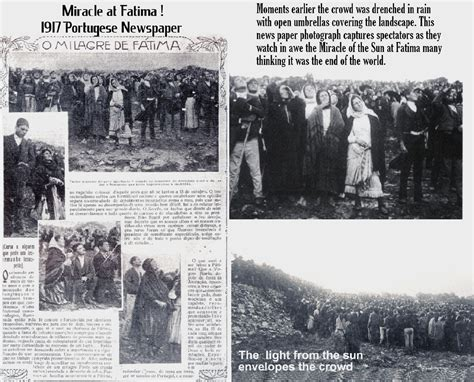 The Miracle Of Our Of Fatima The Novus Ordo Church And Fatima Separating Fact From Fiction Novus Ordo