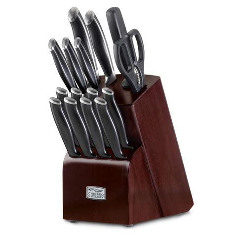 kitchen knives block set chicago cutlery belmont knife block set 16 piece