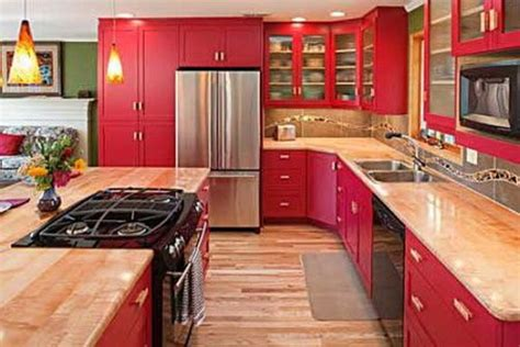 red kitchen decor 17 best ideas about red kitchen cabinets on pinterest
