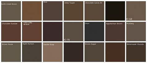designers favorite browns top row l to r bm creek brown bm davenport bm mink bm