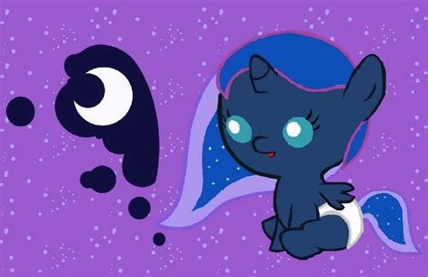 my little pony princess luna and celestia babies baby princess luna by acuario1602 on deviantart