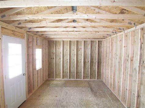Inside Shed by Inside Of A 12x20 Cabin Studio Design Gallery Best