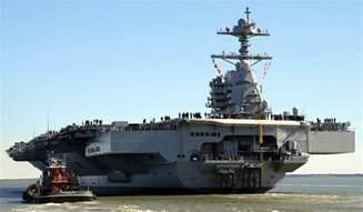 uss gerald r ford cvn 78 aircraft carrier us navy