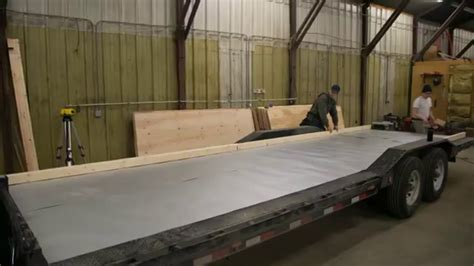 how to build a floor for a house how to build floor for tiny house on trailer ana white