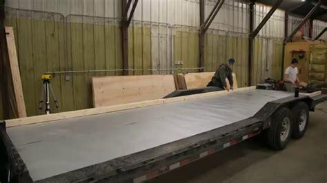 build floor  tiny house  trailer ana white