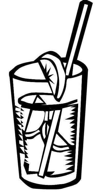 disegni di bicchieri disegni da colorare bicchiere di the freddo disegni da