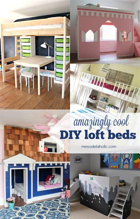 Diy Bedroom Loft by Remodelaholic 15 Amazing Diy Loft Beds For
