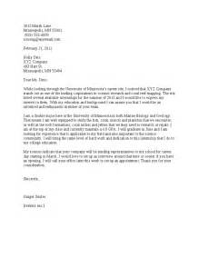 Internship Cover Letter Templates by Cover Letter For Internship With No Experience Cover