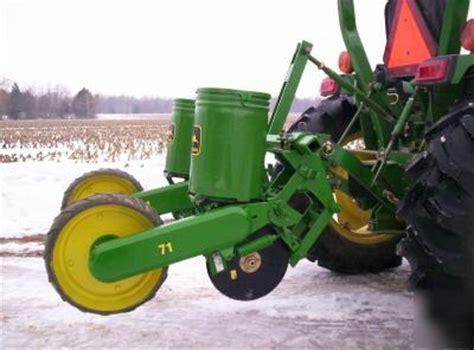 Deere 71 Planter by Deere 71 Two Row Planter