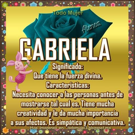 imagenes de amor para gaby todo mujer gabriela que significa este lindo nombre