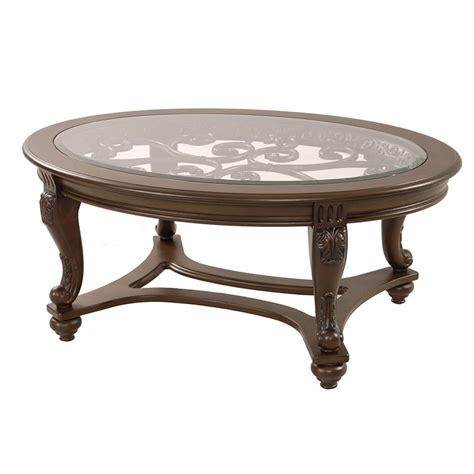 norcastle oval coffee table el dorado furniture