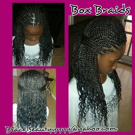kids scalp braids with loose ends kids box braids little girl s hairstyles by