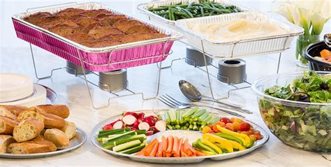 Dishes For Baby Shower by Baby Shower Chafing Dishes Aluminum Pans City