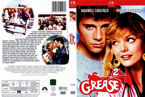 Two Cover by Grease 2 Dvd Cover 1982 R2 German