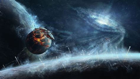 wallpapers hd 1920x1080 planets exploding planet wallpaper