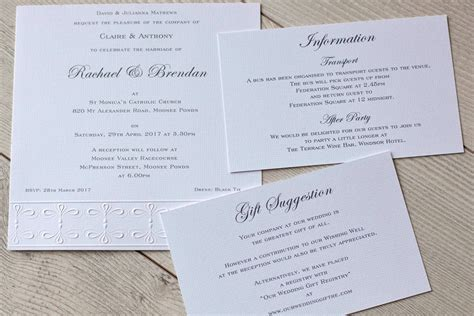 Wedding Invitation Information Card by Wedding Invitations Information Cards Papers Of