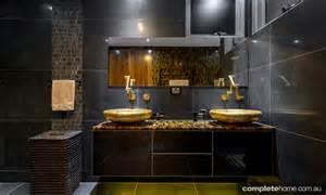 Black And Gold Bathroom » Modern Home Design