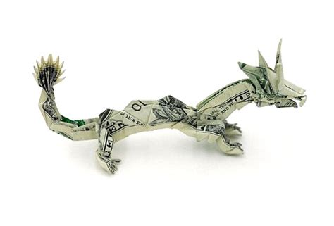 50 spectacular origami designs made from money
