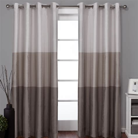 lighted curtain panels amalgamated textiles exclusive home light filtering