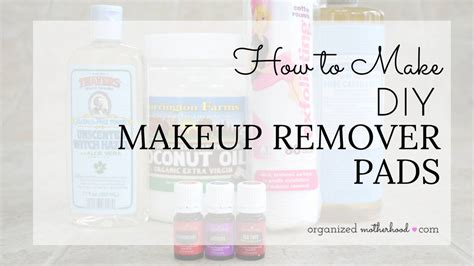 diy makeup remover pads diy makeup remover how to make coconut pads
