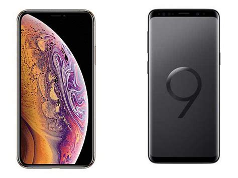 to apple iphone xs vs samsung galaxy s9