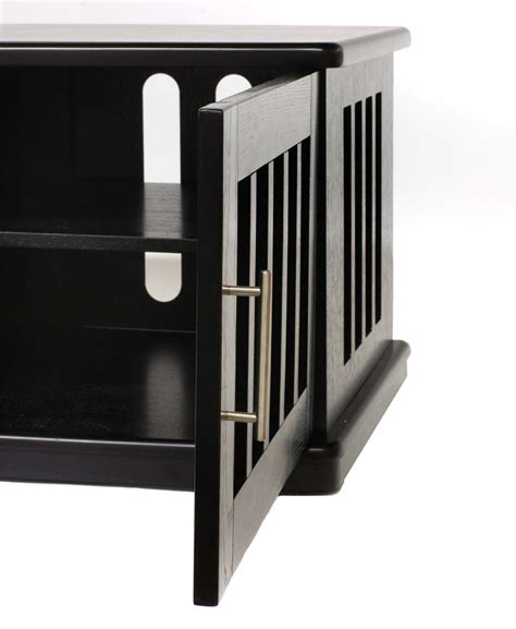 26 Inch Stand Plateau Lsx Series Slatted Wood Tv Stand For 26 42 Inch Tv