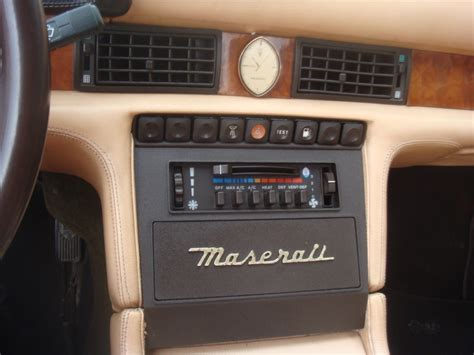 maserati biturbo interior maserati biturbo interior images