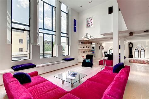 Pretty Houses Inside by Westbourne Grove Church Transformed Into Stunning Modern