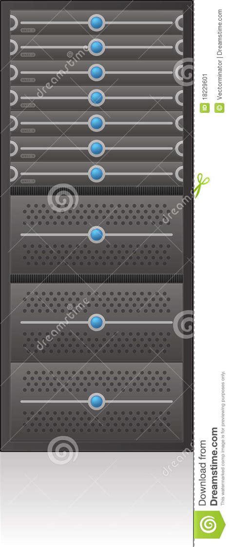 Server Rack Hardware by Server Rack Stock Image Image 18229601