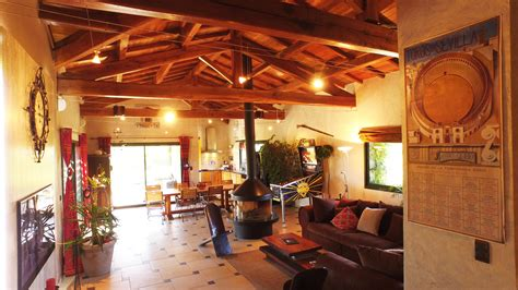 Eclairage Charpente Apparente by L Espace Jour De Villa Magarre