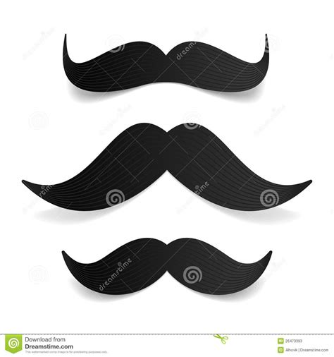 moustache stock images royalty free images vectors mustaches stock vector illustration of moustache 26473393