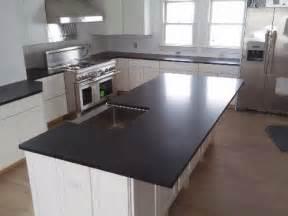 Absolute black honed seattle granite countertops marble countertops