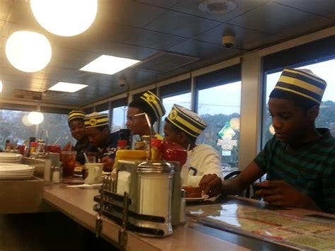 waffle house north myrtle beach the server gave them waffle house hats she take their picture and posted it on the