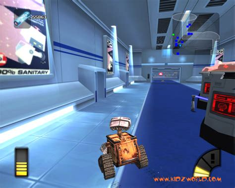 wall e game wall e preview resourceful robots thq eve