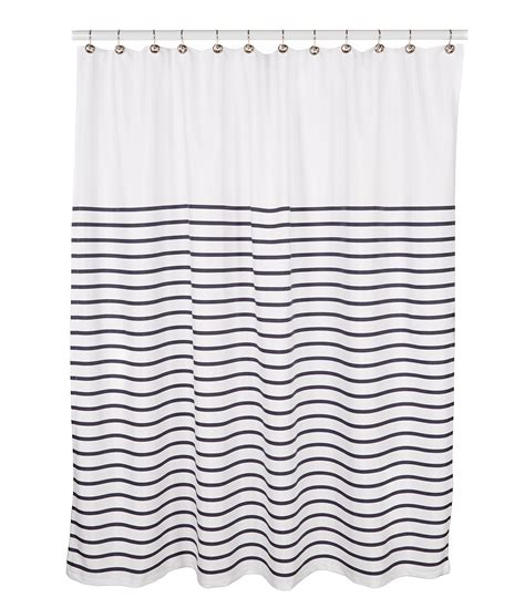 kate spade striped shower curtain kate spade new york harbour stripe shower curtain dillards