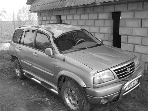 Suzuki Grand Vitara Gearbox Problems 2002 Suzuki Grand Vitara Xl 7 Pictures 2 7l Gasoline
