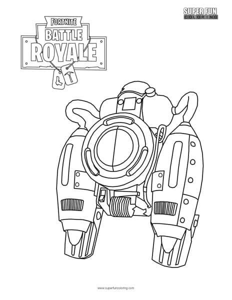 jetpack coloring page jetpack fortnite coloring page super fun coloring